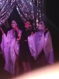 Courtney Act, Shangela, and Gaga