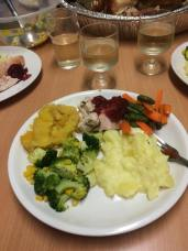 The finished meal!