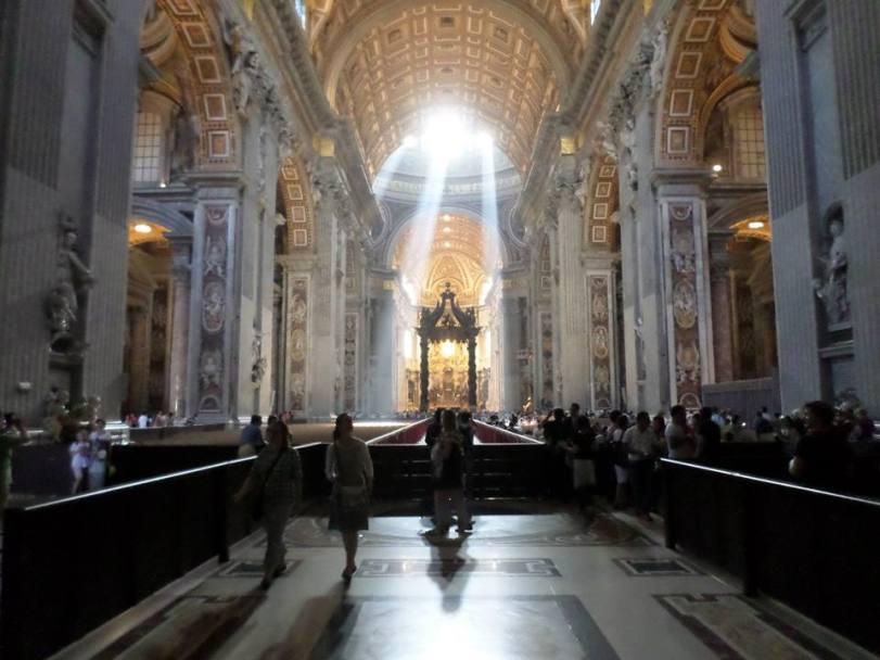 St Peter's Basilica June, 2014