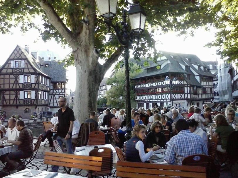 Dinner in Strausbourg