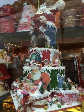 Giant Christmas Cake